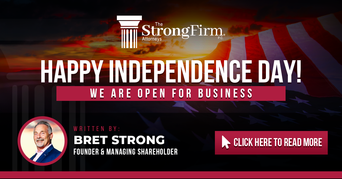 Happy Independence Day – We Are Open For Business